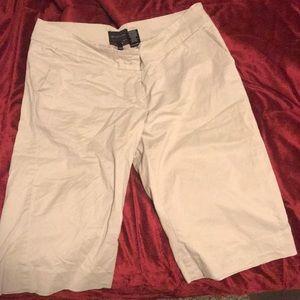 The Limited Tan Bermuda shorts